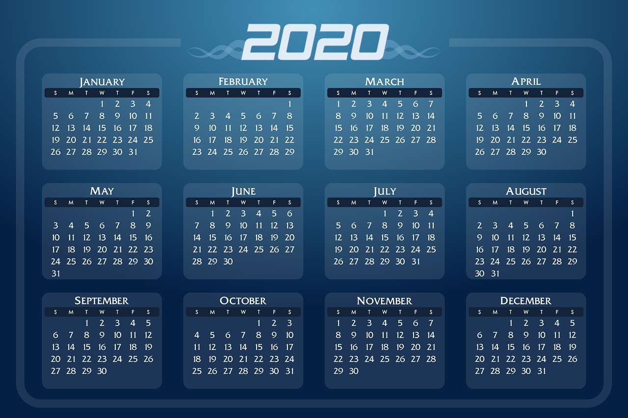 Feste e ponti del 2020, il calendario