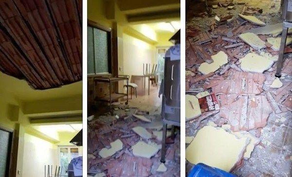 Messina-crolla-contro-soffitto-asilo-nido 1