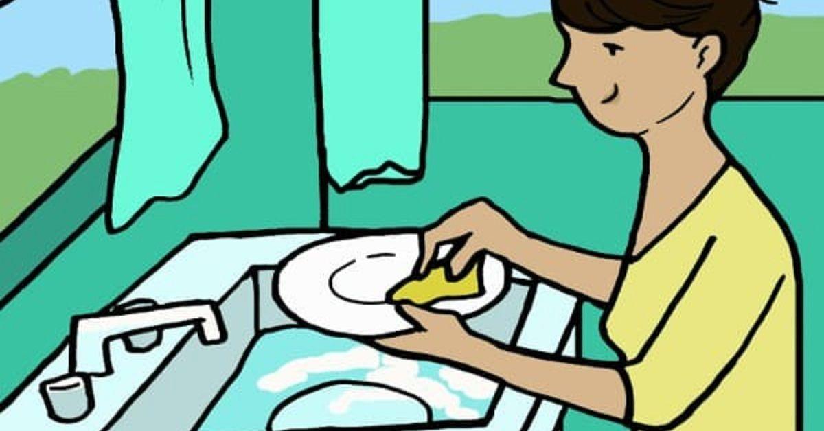 7 benefici del lavare i piatti a mano