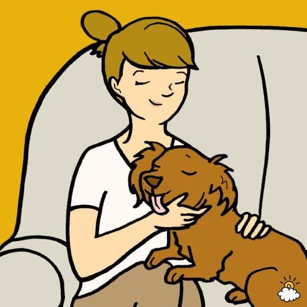 ragazza-cane