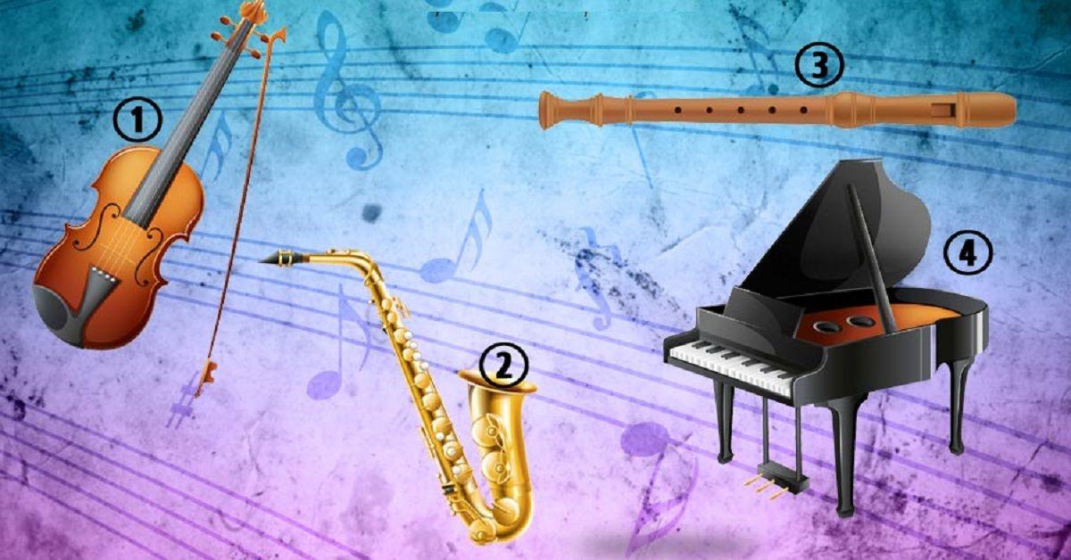Scegli uno strumento e scopri la musica della tua anima
