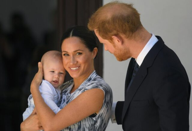 Meghan margkle Archie Principe Harry