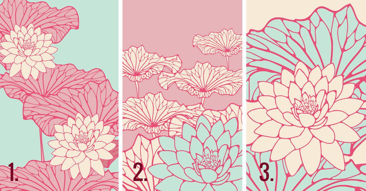Scegli uno di questi fiori di loto giapponesi per conoscere