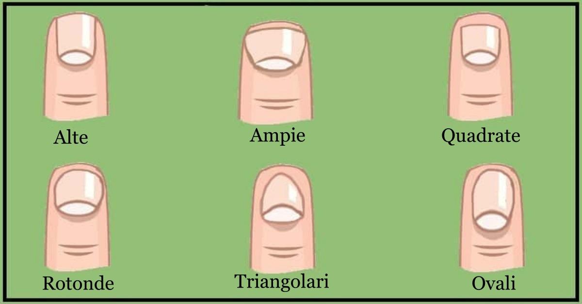 La forma delle tue unghie dice molto di te
