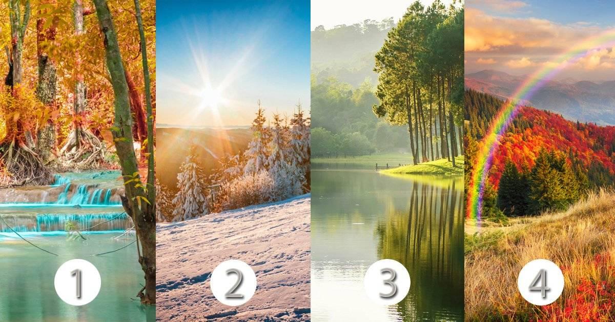 Il test del paesaggio ti rivela le principali caratteristiche della tua psicologia emotiva