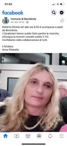 Trovato il corpo senza vita di Roberta Girotto, la mamma sco