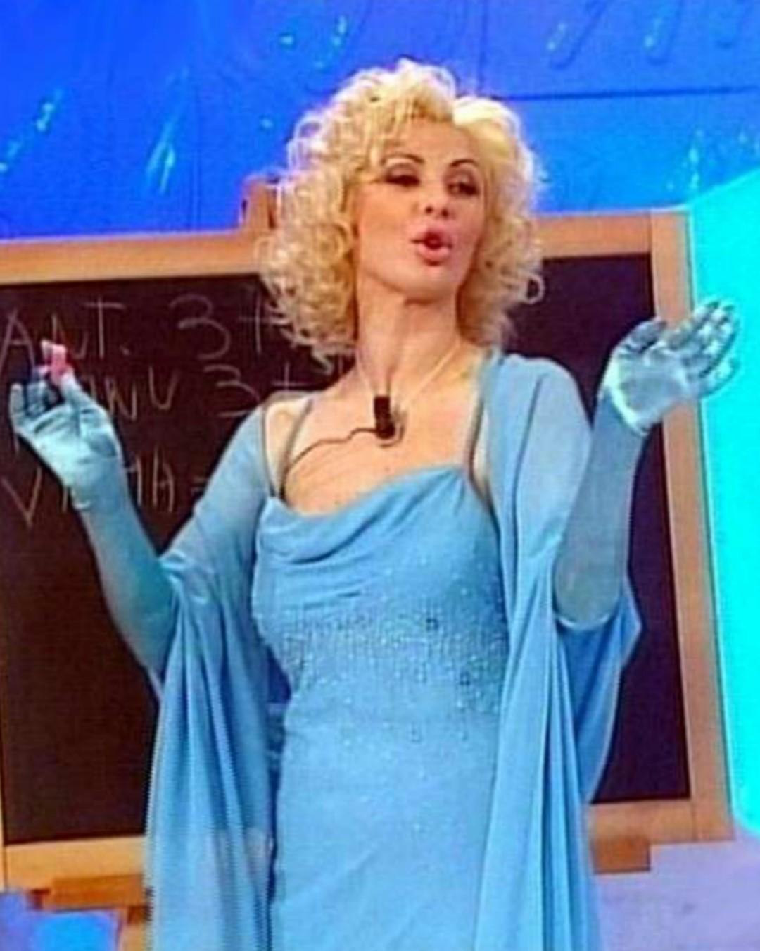 Tina Cipollari magra