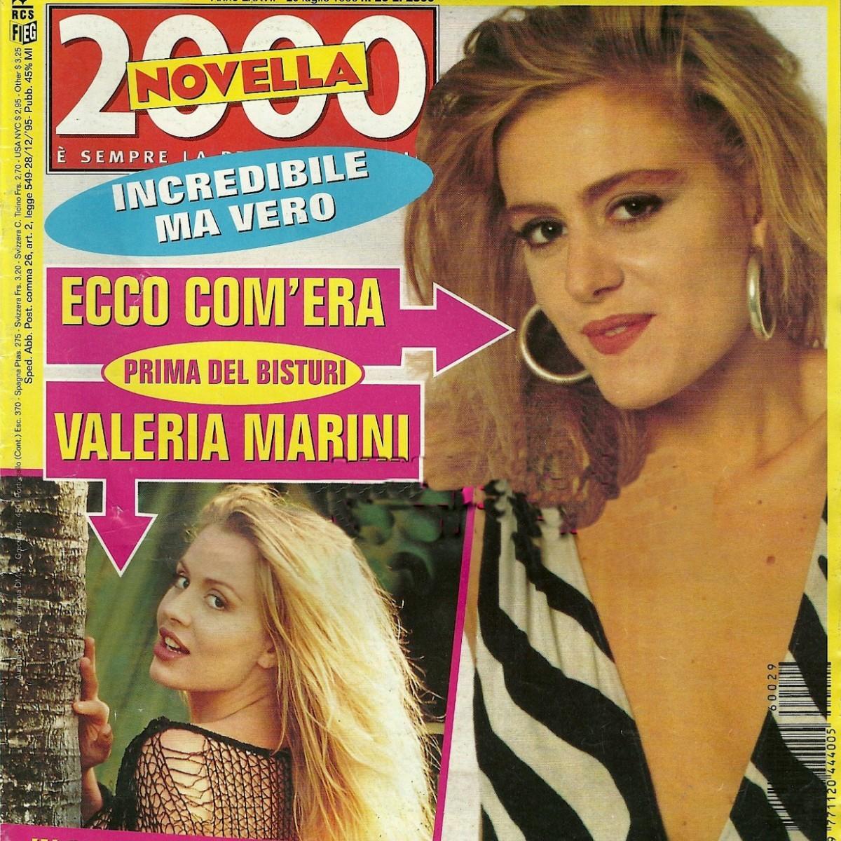 Valeria Marini Giovane
