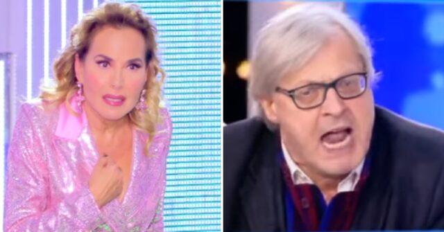 Vittorio Sgarbi fuori da Mediaset dopo la lite con Barbara D'Urso