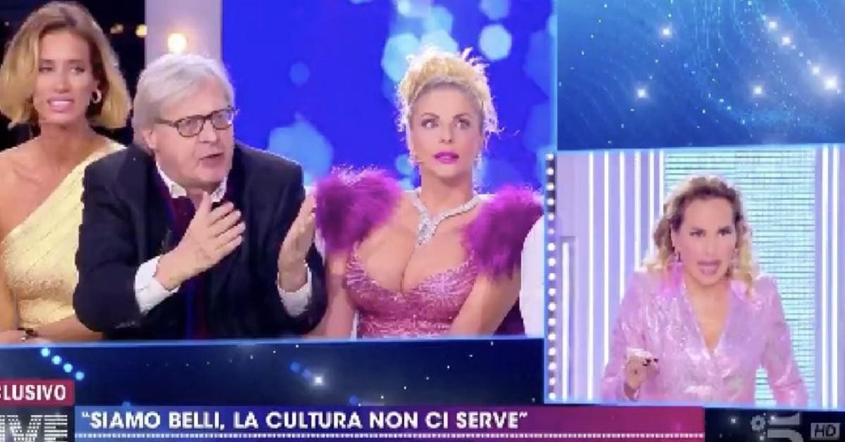 Vittorio-Sgarbi-barbara-d-urso-live