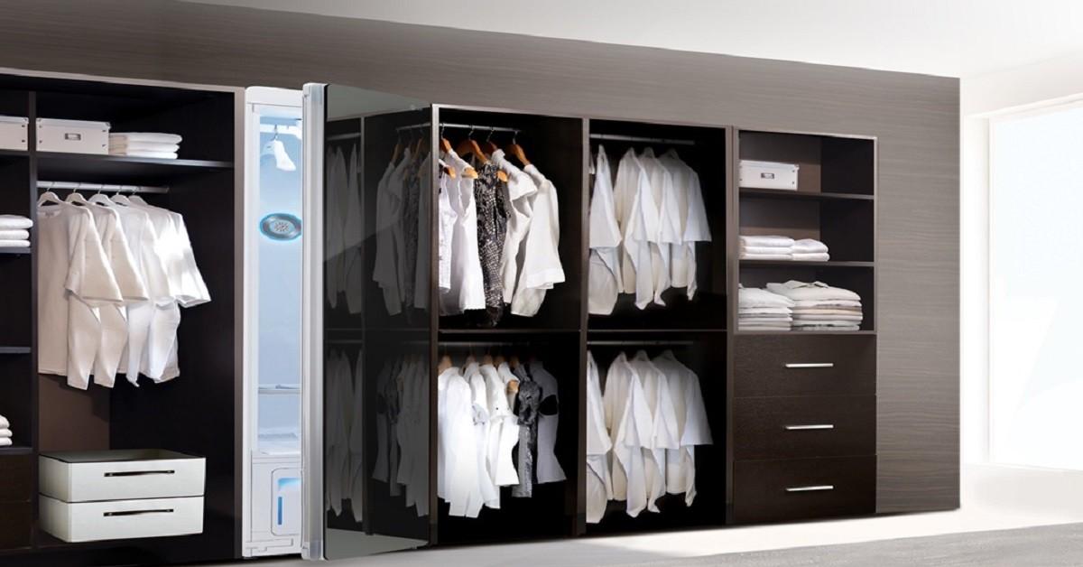 L'armadio dei sogni: lava, asciuga e stira ogni vestito
