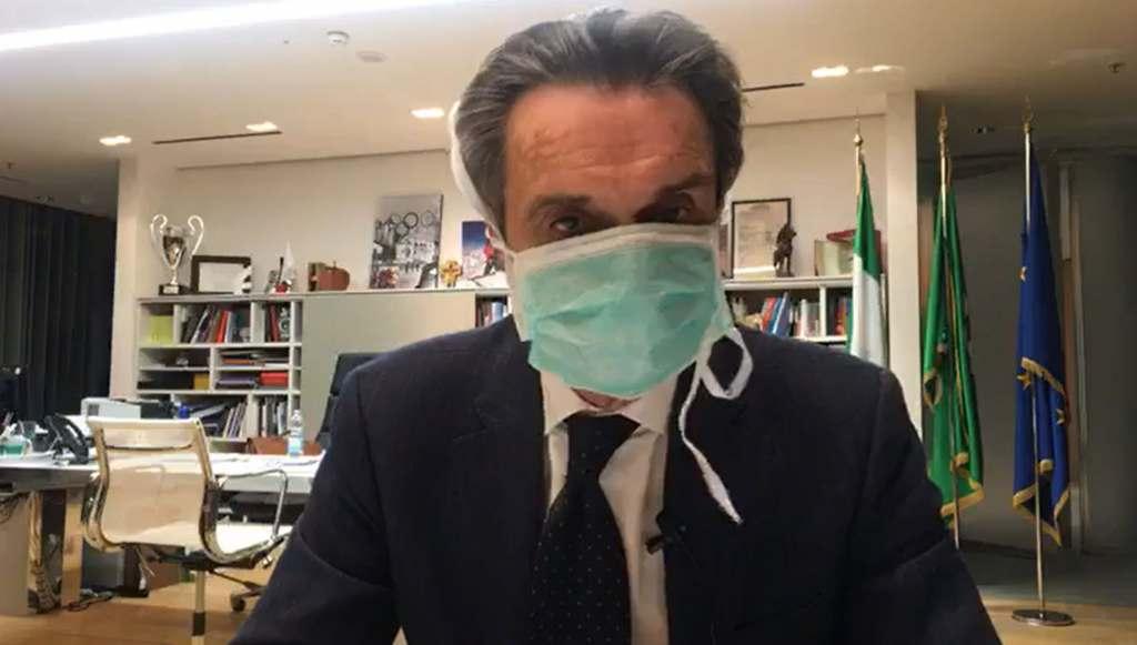 Coronavirus, il governatore della Lombardia Fontana in quara