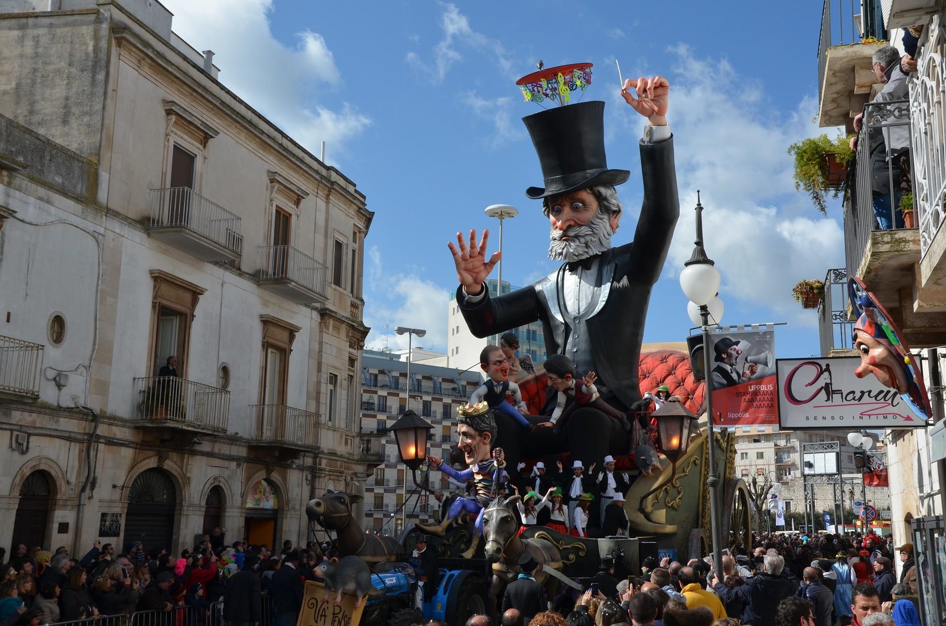 Le destinazioni da raggiungere (in Italia e in Europa) per il carnevale 2020