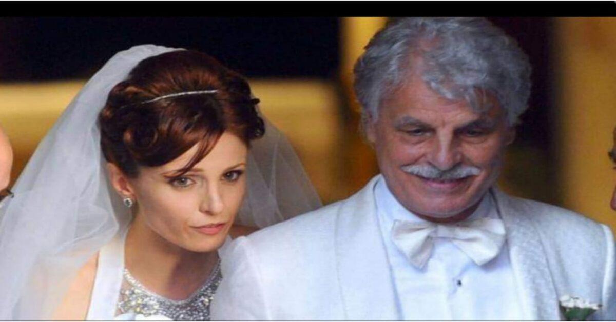 Michele placido e sua moglie