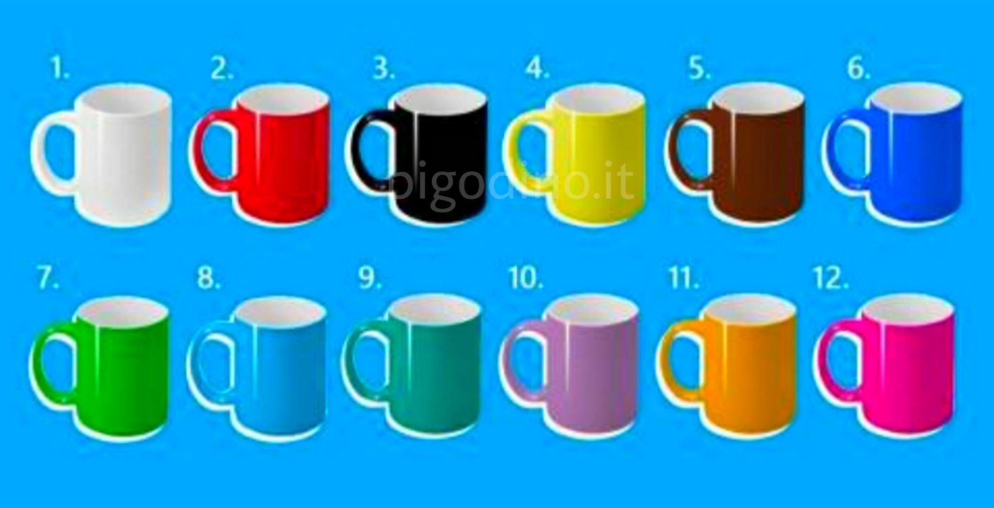 Scegli la tua tazza preferita e scopri la tua vera natura