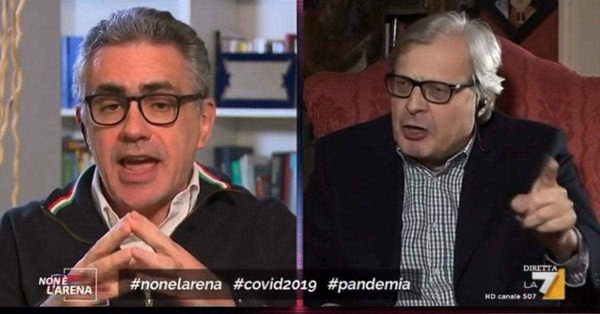 Fabrizio-Pregliasco-Vittorio-Sgarbi