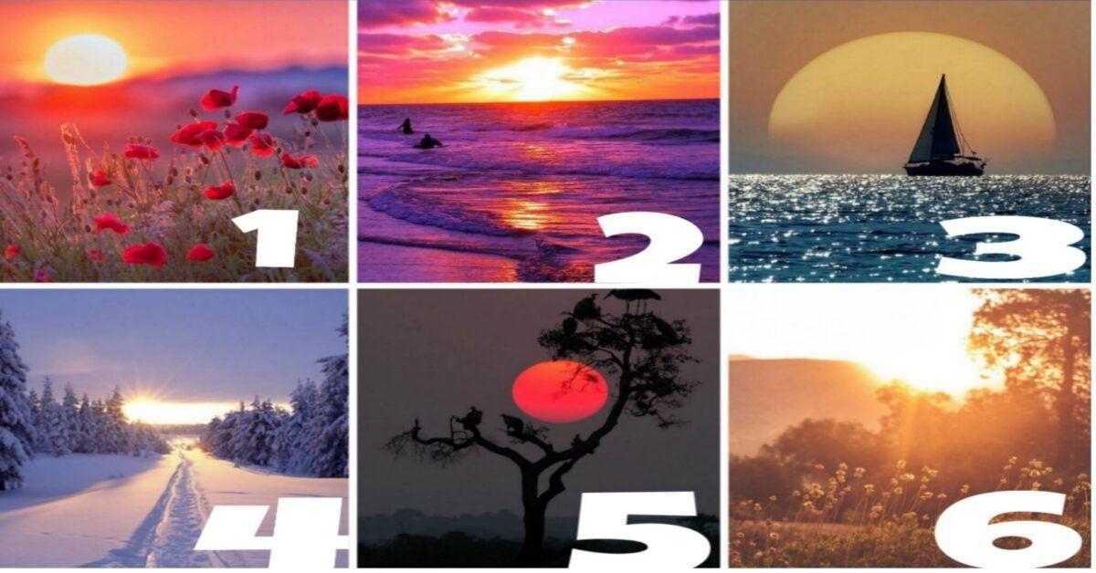 Test psicologico, scegli il tramonto che più ti affascina e scopri la tua personalità nascosta