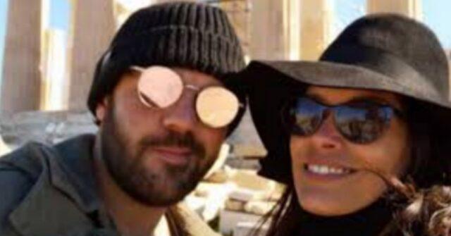 Fernanda Lessa e il marito