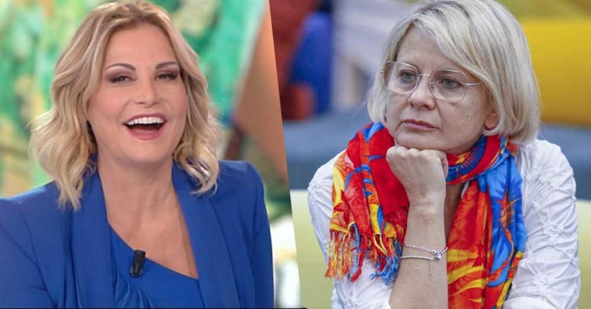 Simona Ventura e Antonella Elia