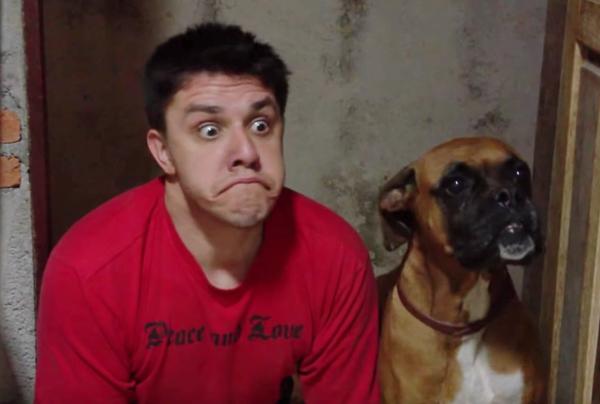 l'imitazione-del-cucciolo-di-Boxer