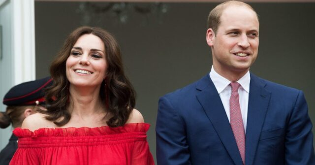 La prima videochiamata ufficiale del principe William e Kate