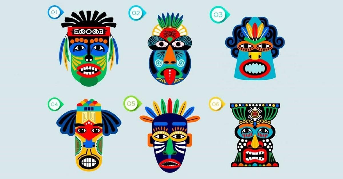 Scegli una maschera e scopri qual è il tuo atteggiamento nei
