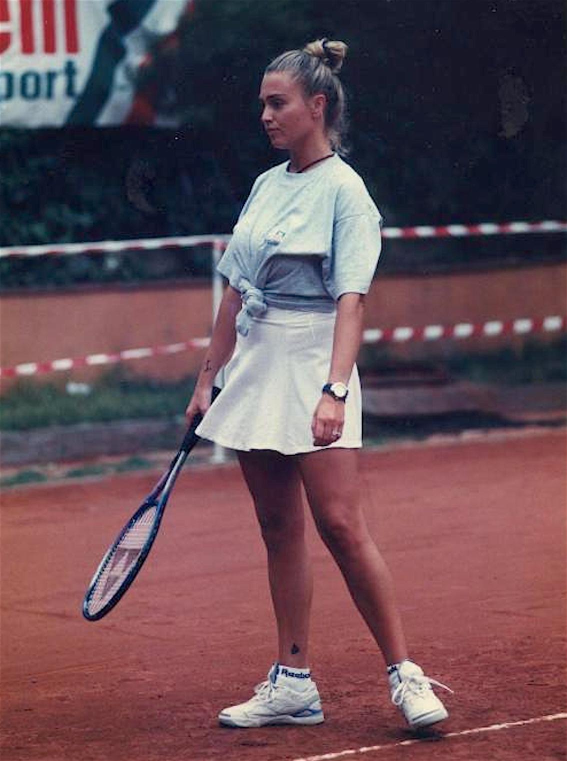 Paola Barale giovane