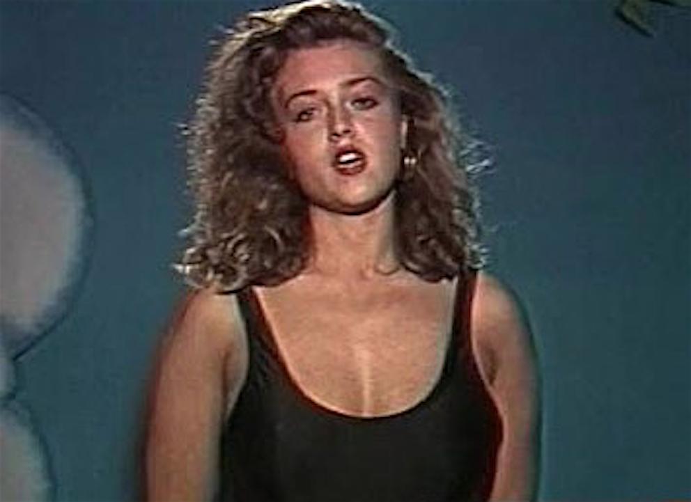 Paola Barale 1989 provino