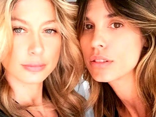 Elisabetta Canalis e Maddalena Corvaglia si sfidano su insta