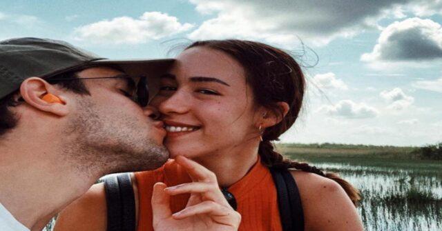 Aurora Ramazzotti e Goffredo Cerza insieme su Instagram