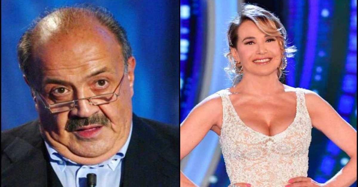 Maurizio Costanzo e Barbara d'Urso