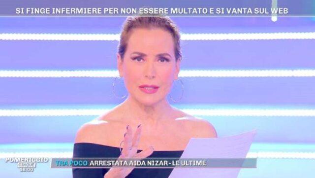 Barbara D'Urso Pomeriggio 5