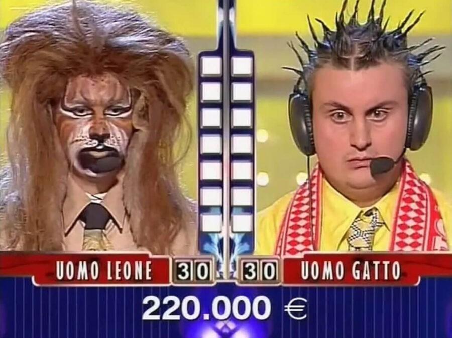 Uomo-Gatto-Uomo-Leone-Sarabanda