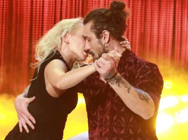 Dani Osvaldo e Veera Kinnunen Ballando con le Stelle