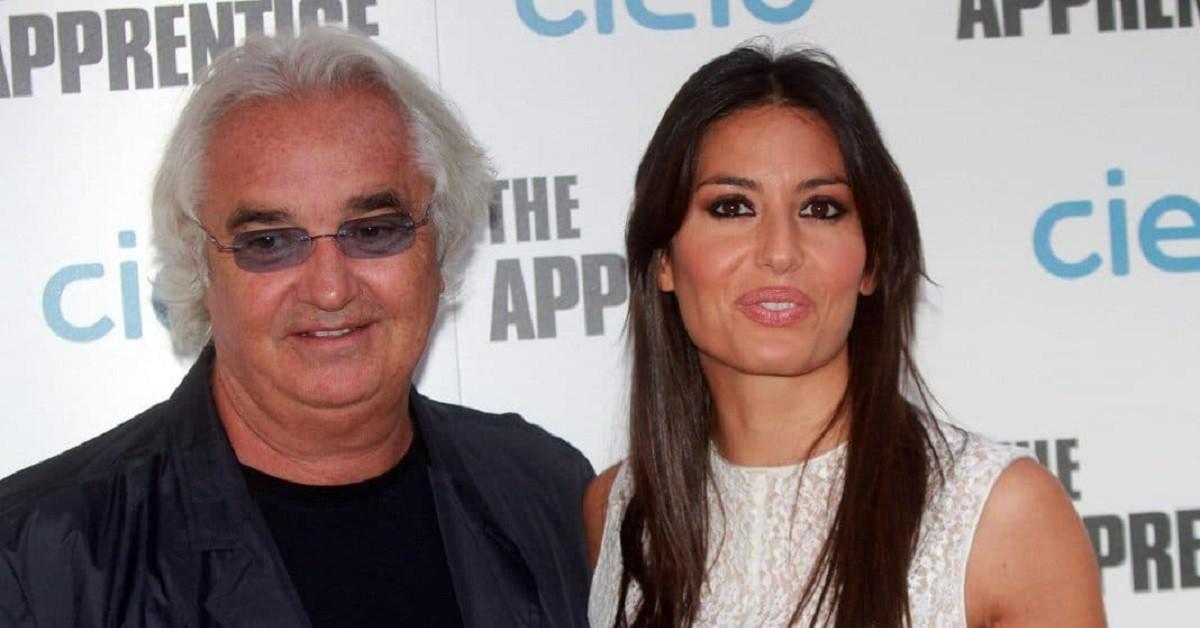 Elisabetta Gregoraci e Flavio Briatore foto