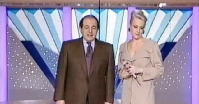 Giancarlo Magalli e Heather Parisi Ciao Weekend