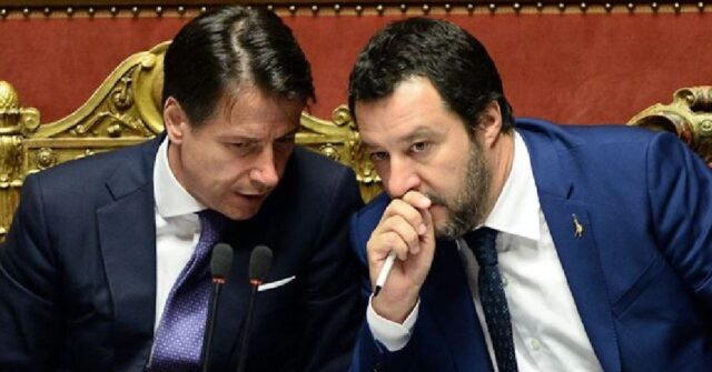 Giuseppe Conte in diretta: duro attacco a Matteo Salvini e G