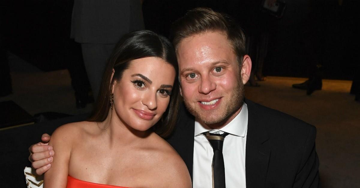 Lea Michele e il marito