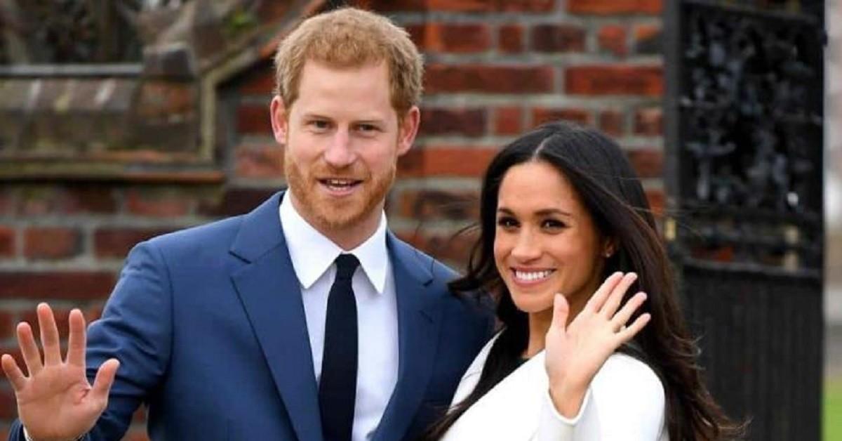 Meghan Markle e l'ex principe Harry