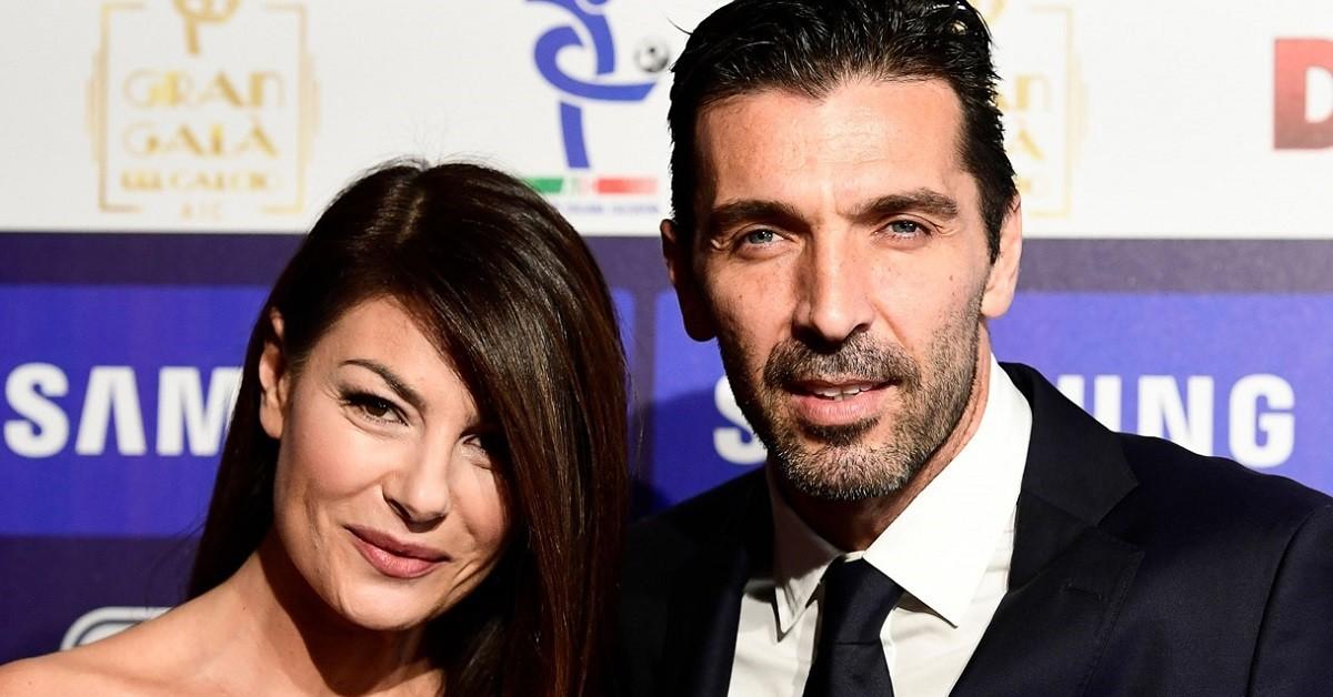Gianluigi Buffon e Ilaria D'Amico quarantena