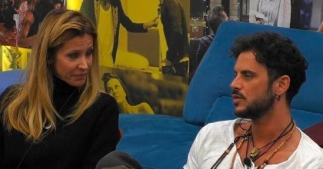 Adriana Volpe e Andrea Montovoli Grande Fratello Vip