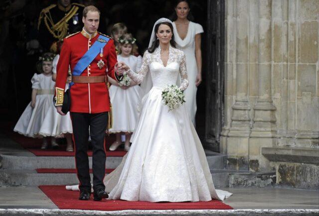 Kate Middleton e il Principe William matrimonio