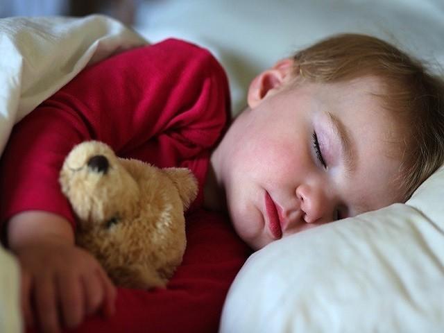 sonno notturno del bambino