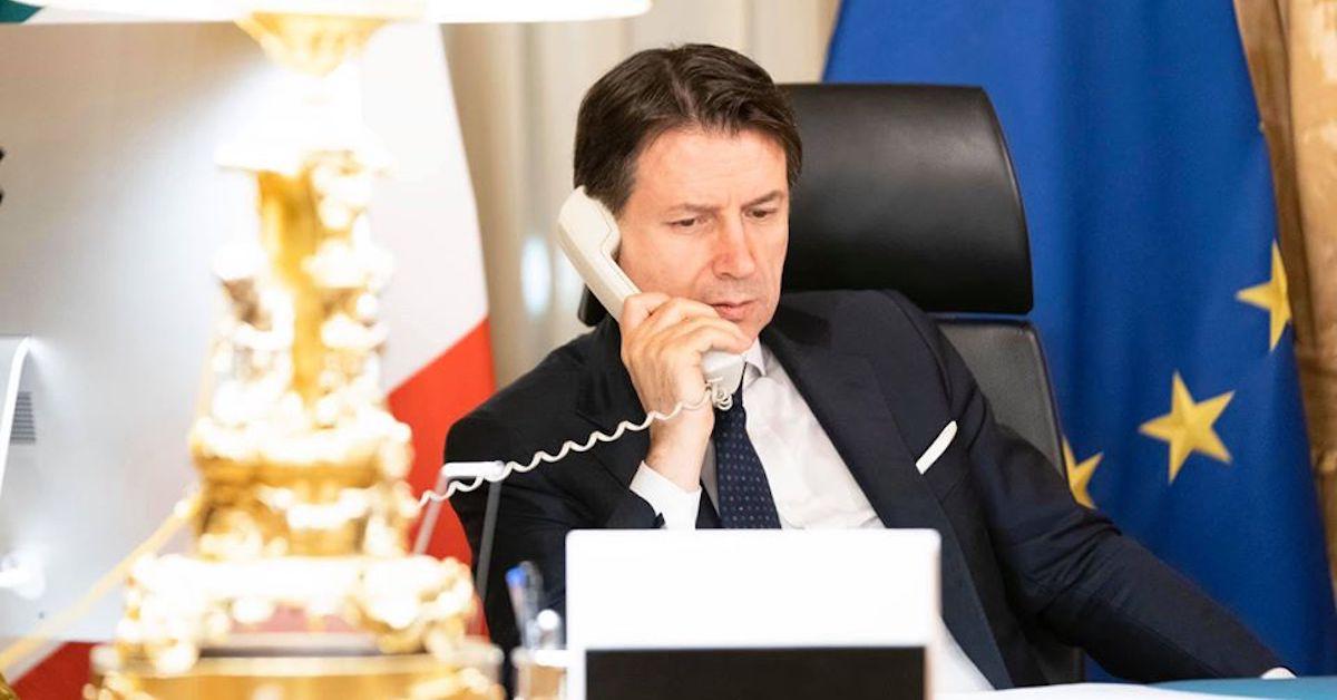 Giuseppe Conte In Diretta Oggi 10 Aprile