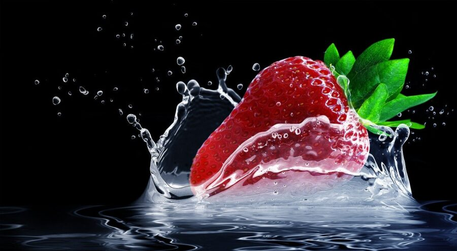 Disinfettare la frutta