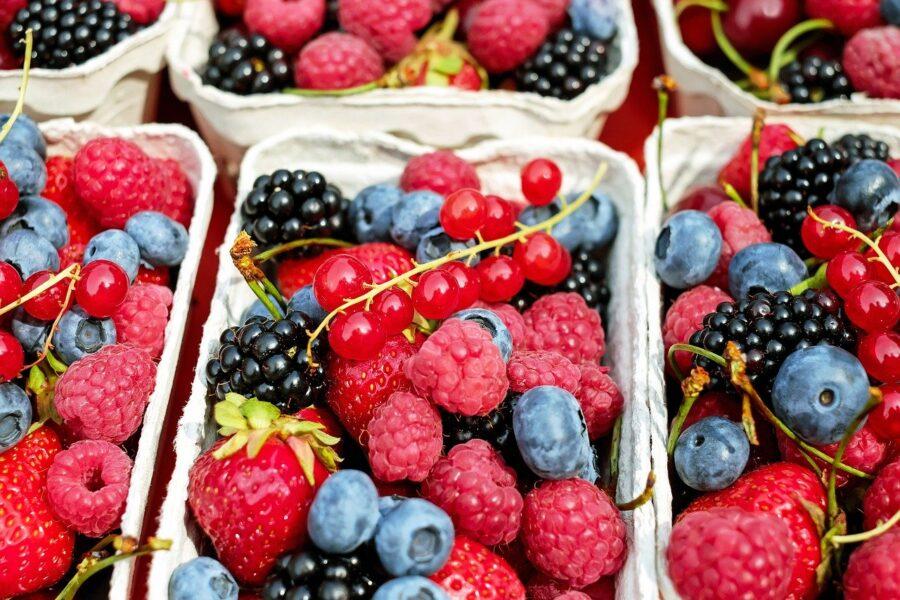 pulire la frutta