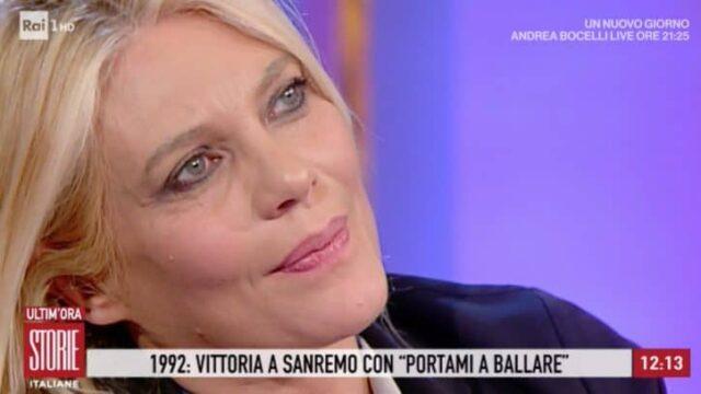 storie italiane, elonora daniele in lacrime
