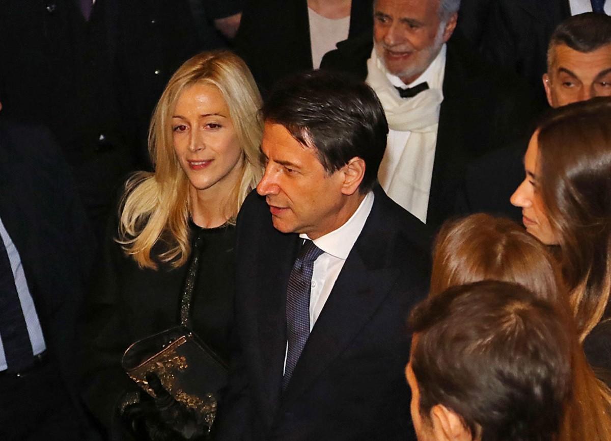 Olivia Paladino e Giuseppe Conte