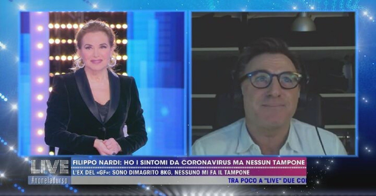 Filippo Nardi intervistato da Barbara D'Urso