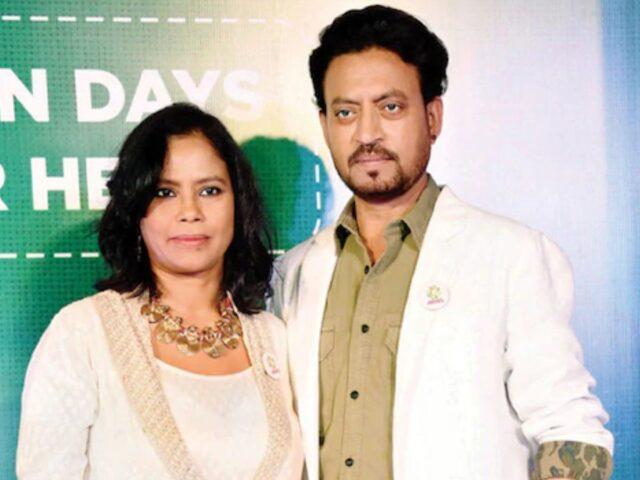 moglie Irrfan Khan morto